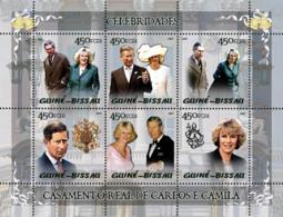 Guinea Bissau 2005   Celebrities: Royal Wedding Of Charles & Camilla - Guinea-Bissau