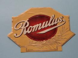 ROMULUS ( Formaat > L =  +/- 13,5 Cm.) ! - Bagues De Cigares