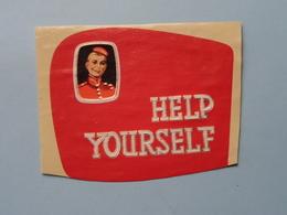 HELP YOURSELF ( Formaat > L =  +/- 10,5 Cm.) ! - Bagues De Cigares
