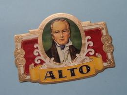 ALTO ( Formaat > L =  +/- 11 Cm.) ! - Bagues De Cigares
