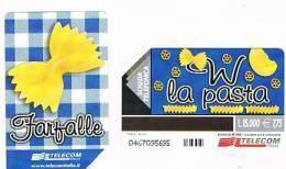 TELECOM ITALIA - C.& C. F3309  PASTA: FARFALLE 15000  -  USATA - Italia