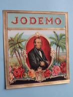 JODEMO ( Formaat =  +/- 11,5 X 12,5 Cm.) ! - Bagues De Cigares