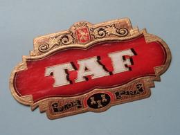 TAF Flor Fina ( Formaat =  +/- 13 Cm.) ! - Bagues De Cigares
