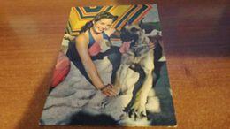 Cartolina:Ragazza Con Cane 1958 Viaggiata (a32) - Cartoline