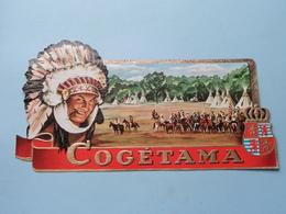 Cogétama ( COGETAMA ) ( Formaat =  +/- 18,5 Cm.) ! - Bagues De Cigares
