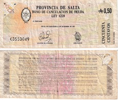 Argentine Province De Salta  0.5. Australes - Argentina