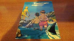 Cartolina:umoristica  Al Mare Viaggiata (a32) - Cartoline
