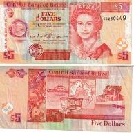 Bélize 5 Dollars - Belize