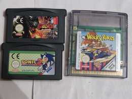 LOT DE 3 JEUX NINTENDO - Nintendo Game Boy