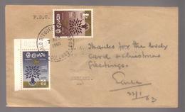 9531- Ceylon, Sri Lanka, FDC Scott  360+361 - - Sri Lanka (Ceylon) (1948-...)
