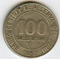 Pérou Peru 100 Soles 1982 KM 283 - Pérou