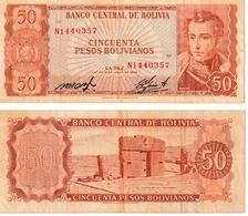 Bolivie 50 Bolivanos - Bolivia