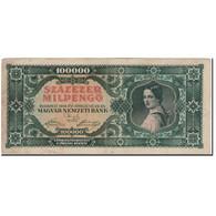 Billet, Hongrie, 100,000 Milpengö, 1946-04-29, KM:127, TB+ - Hongrie