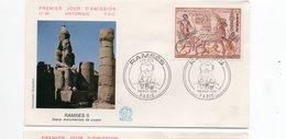 FDC FRANCE 3e Siècle Avant JC - Retour Triomphal De Ramses II (YT 1899 ) Paris  5/9/1976 - 1970-1979