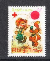 Francia    -    2002.  For  Red Cross. Boule & Bill, Cartoon Characters. Day Of Philately. - Croce Rossa