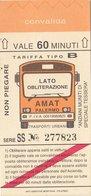 PALERMO / Servizio Urbano _ Biglietto-Tiket - Bus