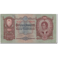 Billet, Hongrie, 50 Pengö, 1932-10-01, KM:99, TTB - Hongrie