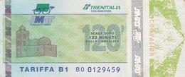 PALERMO / Servizio Urbano _ Biglietto-Tiket Da 120 Minuti - Bus