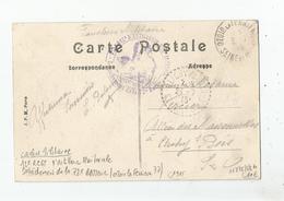 OZOIR LA FERRIERE (77) CACHET MILITAIRE DU 12 Z REGT D'ARTILLERIE TERRITORIALE . DETACHEMENT DE LA 72 E BATTERIE 1915 - Poststempel (Briefe)