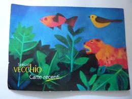 """Grande  Cartolina  Mostra """"SERGIO VECCHIO CARTE RECENTI Museo FRAC Baronissi ( SA ) 2011"""" - Exhibitions"""