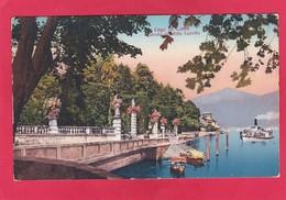 Old Post Card Of Lake Como, Lombardy, Italy ,V64. - Como