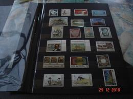 PAGES D'ALBUM CONTENANT BELLE COLLECTION DE TIMBRES NEUFS LUXE    EUROPA   TRES BELLE COTE - Stamps