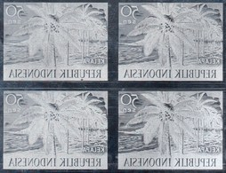 KPI-273. Nuovo - INDONESIA - 1960 - Block 4. Prodotti Agricoli - Coconut - Kelapa 50 Sen,,piece Of Printing Plate! Rare - Indonesia