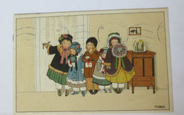 """""""Kinder, Blumen, Geschenke""""  1925, Pauli Ebner ♥  - Kinder"""