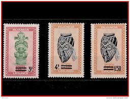 Ruanda 0173/75**  Artisanat Et Masques  MNH - Ruanda-Urundi