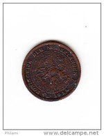 PAYS BAS  KM 138 1/2 Ct 1914. (5AP41) - [ 3] 1815-… : Royaume Des Pays-Bas
