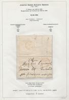 201/28 - Lettre Non Affranchie TOURNAY 1852 Vers Le Bourgmestre De TURNHOUT - Sans Contenu - België