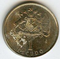 Chili Chile 1 Escudo 1972 KM 197 - Chili