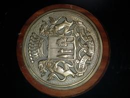 Rare Plaque De Bouche Marine Nationale - 1939-45
