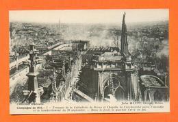 CPA FRANCE 51  ~  REIMS  ~  7  Transept De La Cathédrale  Après Le Bombardement Du 19 Septembre 1914  ( Matot ) - Reims