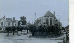 CHENNEVIERES-les-LOUVRES L'église Et La Mairie (C5922) - France