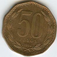 Chili Chile 50 Pesos 1994 KM 219.2 - Chili