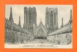 CPA FRANCE 51  ~  REIMS  ~  12  Cathédrale, Dessus De La Voûte Après Le Bombardement  Du 19 Septembre 1914 ( Matot ) - Reims