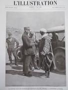 Maroc Oudja OUDJDA    Le Général Mougin  Et  Si Mohamed  Azerkane   Avant La Conférence Oujda - Vieux Papiers