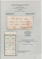 203/28 - Lettre Non Affranchie AUDENAERDE 1857 Vers TURNHOUT , Signée Van Gestel + Talon De Mandat - België