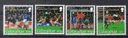 GIBRALTAR   Timbres Neufs ** De 2004   ( Ref 5911 )  Sport - Football - Gibraltar