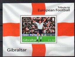 GIBRALTAR   Timbre Neuf ** De 2004   ( Ref 5912 )  Sport - Football - Gibilterra