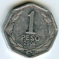 Chili Chile 1 Peso 2006 KM 231 - Chili