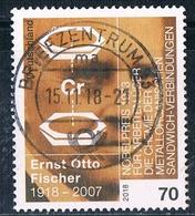 2018  100. Geburtstag Von  Ernst Otto Fischer - Gebraucht