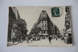 CPA 75 PARIS MONTMARTRE ARRONDISSEMENT 18. Les Rues Ordener Et Du Poteau - Arrondissement: 18