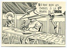 VEYRI - L'UNION - 1ère Bourse - Carte Pirate - 1987 - Rare - Voir Scan - Veyri, Bernard