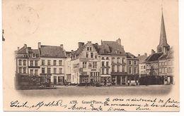 ATH Grand 'Place Cahetée 1899  Sans Editeur   Re 690 Geen Uitgever  D2 - Ath