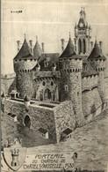 PORTERIE DU CHATEAU DE CHATEL SUR MOSELLE 1580 - Chatel Sur Moselle