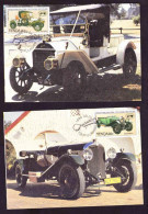 Venda - 1986 - International Veteran Car Rally - Cent Of The Automobile - Complete Set Maximum Cards - Venda