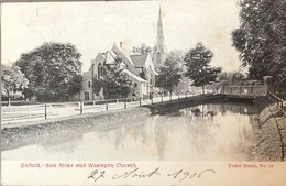Enfield - New River And Wesleyan Church - Middlesex