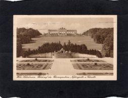 82530    Austria,   Wien,  Schonbrunn,  Blick Auf Das  Blumenparterre,  Neptungrotte U. Gloriette,  VG  1930 - Château De Schönbrunn